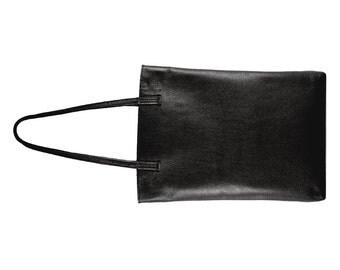 Black leather tote bag, women tote bags, pebble texture leather bag, leather tote bags, leather ladies tote bags, navy leather tote handbags