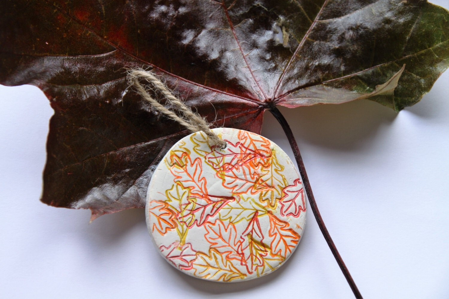 Autumn Leaves Hanging Wall Decoration Fall Decor Autumn