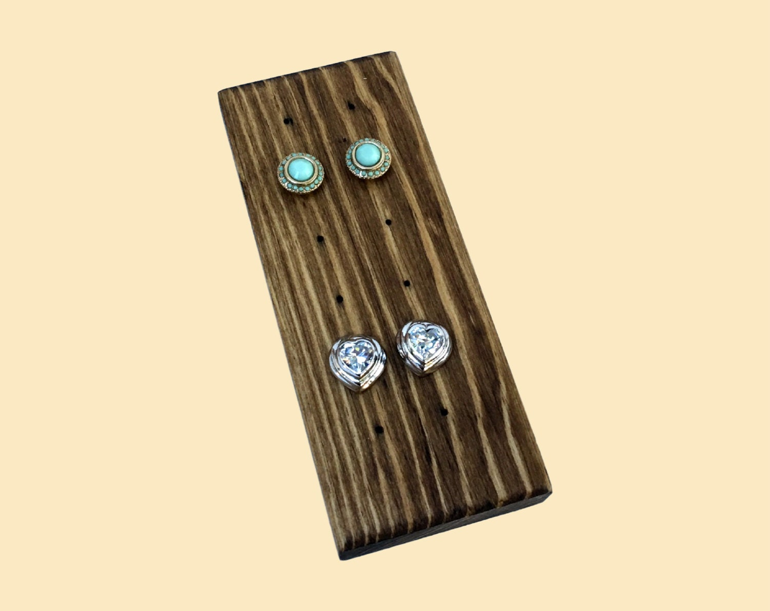 post and stud earring display earring holder earring stand
