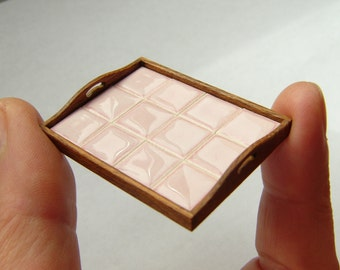 Miniature Tray - real porcelain tiles