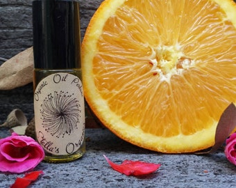 Organic Orange Vanilla Oil Perfume