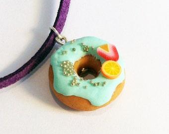 Donut Mini Jewellery Making Kit - Donut Necklace Making Kit – Party Bag Filler - DIY Craft Kit