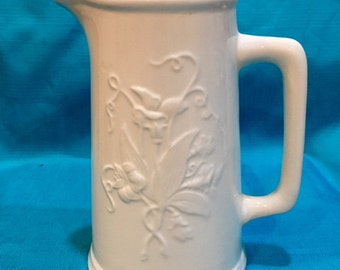 Vintage William & Sons Ironstone China Pitcher