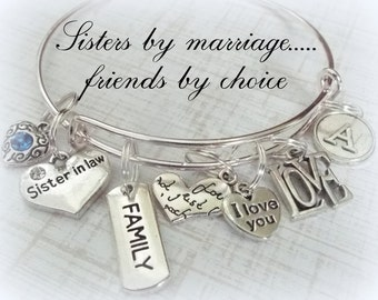 ... Sister Personalized Gift, Sister in Law Gift, Wedding Gift, Sister