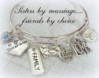 Wedding Gift For Sister In Law : ... Sister-in-Law, Sister Personalized Gift, Sister in Law Gift, Wedding