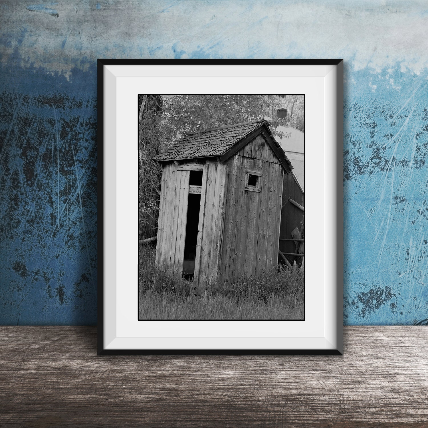 Framed Art Bathroom Bathroom Wall Art Matted And Framed Vintage Outhouse Photo