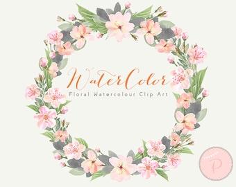 Light pink rose clip | Etsy