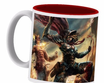 Diablo coffee cup -.