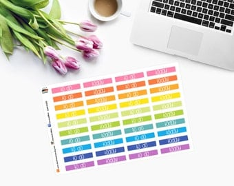 To Do and Today Small Event Planner Stickers  CAM00225