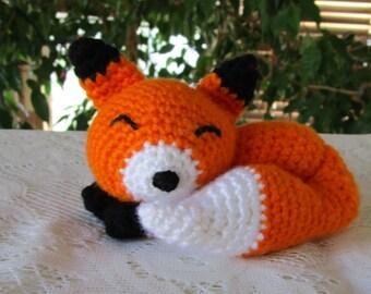 Crochet Amigurumi Little Sleepy Fox