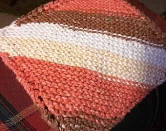 Sandstone cotton washcloths