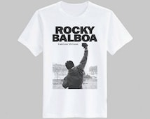 Rocky Balboa T-shirt Unisex Size S M L XL ( T-shirt are printed by handmade )