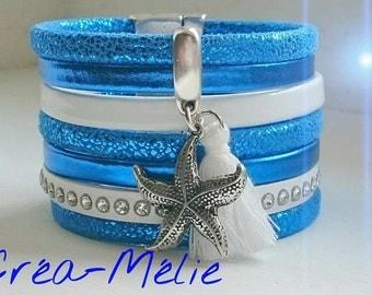 electric blue cuff