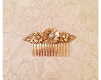 3 Flowers headpiece
