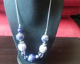 Elegant Purple Necklace