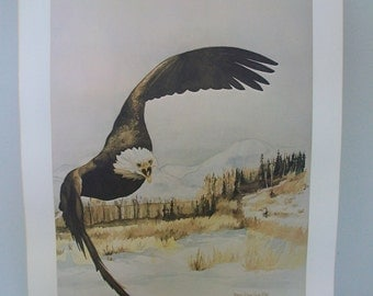 Shannon Chase Poole Rare Signed Watercolor Color Print