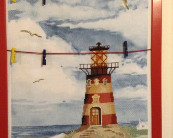 Bulletin Board with lighthouse