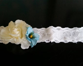 Lace Floral Headband