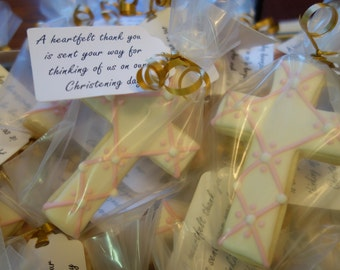 Christening/Baptism Sugar Cookies