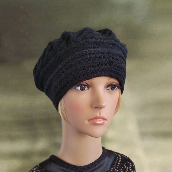 You searched for: black knit beret hat! Etsy is the home to thousands of handmade, vintage, and one-of-a-kind products and gifts related to your search. No matter what you're looking for or where you are in the world, our global marketplace of sellers can help you find unique and affordable options. Let's get started!