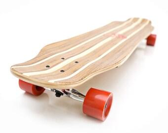 White Wave Bamboo Shocker Longboard
