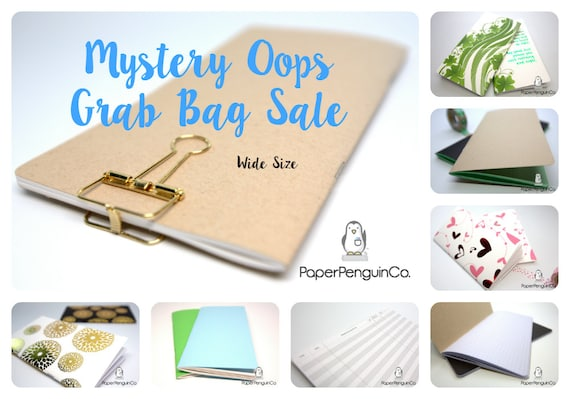 Oops Wide Size 3 Inserts Mystery Oops Grab Bag Sale 3 Midori Inserts Random Oops Up to 75% Off Wide Size