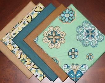 Wilmington Prints and Michael Miller's fat quarter combination, a 5 piece bundle.
