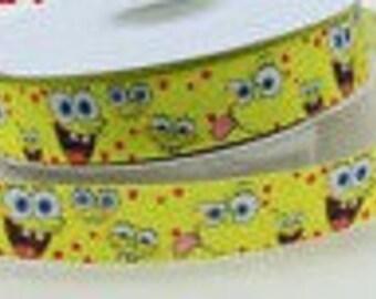 Spongebob Grosgrain Ribbon 1 yard