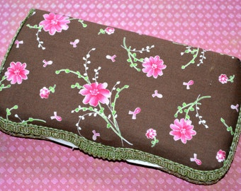Cherry Blossom Print Travel Organizer