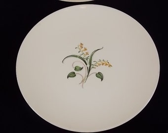 Edwin Knowles Forsythia Plate