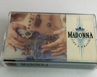 Madonna Cassette Tape - Like A Prayer
