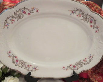 Walbrzych Oval Serving Plate - Made in Poland