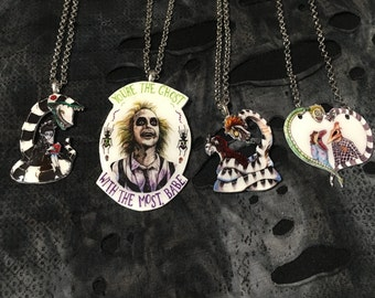 Beetlejuice Necklaces