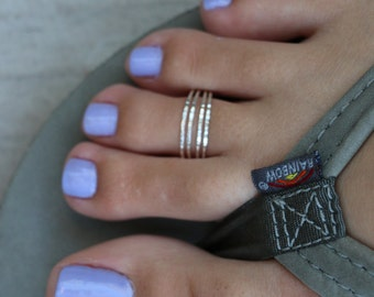 Four Strand Sterling Silver Toe Ring - Also wear as a Midi Ring
