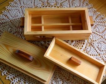 Wood Jewelry Box made from Douglas Fir