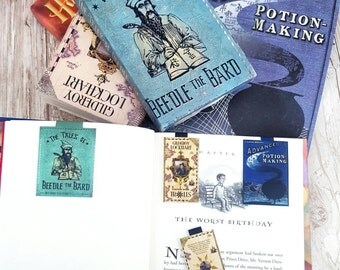 Set of 3 Harry Potter textbooks Magnetic Bookmark