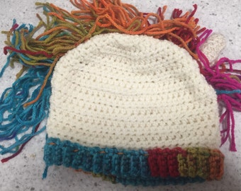 Child size or small adult Unicorn beanie