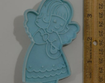 Vintage HALLMARK CHRISTMAS ANGEL Cookie Cutter | 1979 3.75""