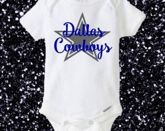 Dallas Cowboys Onesie, Cowboys Onesie