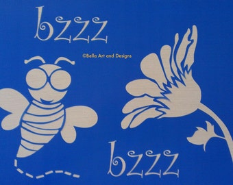 Assorted Bee stencils *Free gift with every order*