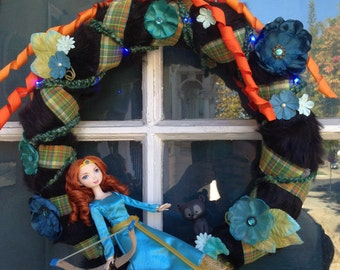 Disney's Merida Brave Spring Wreath