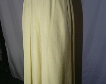 1940s style yellow Skirt
