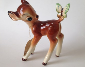 Bambi Figurine Walt Disney Productions