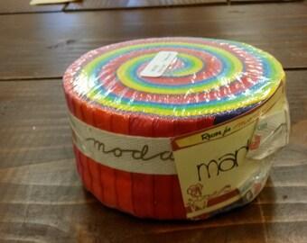 Marbles - Citrus Jelly Roll Moda Precuts