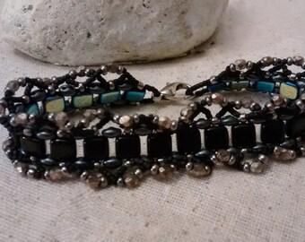 Reversible Ruffle Bracelet