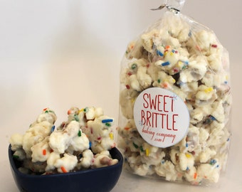 Birthday Cake Batter Popcorn