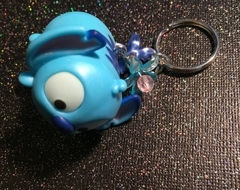 Little Blue Alien Keychain