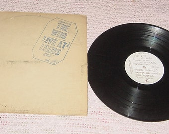 THE WHO ALBUM live at leeds 33rpm