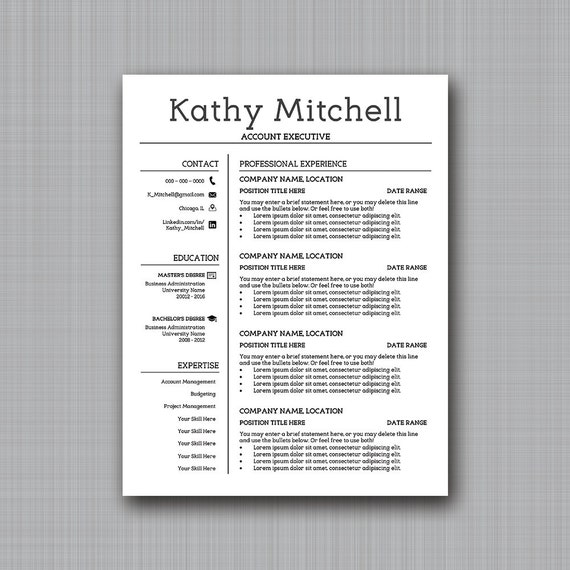 Eligible Resume Template Easy Customization In PPT