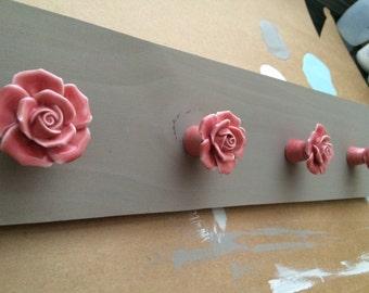 Flower knob jewelry holder Ready to Ship!